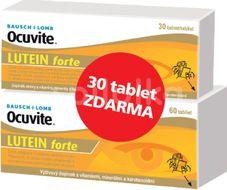Ocuvite LUTEIN forte 60+30 tablet ZDARMA
