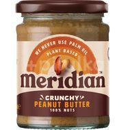 Meridian Arašídové máslo křupavé 280g