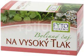 Fytopharma Bylinný čaj na vysoký tlak n.s. 20x1.25g