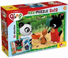 Liscianigioch Puzzle Bing a jeho přátelé 2x12