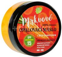 Vivaco Bio Přírodní opalovací mrkvové máslo SPF15 150ml