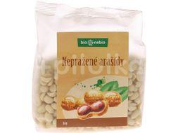 Bio*nebio  Bio arašídy loupané nepražené 200g