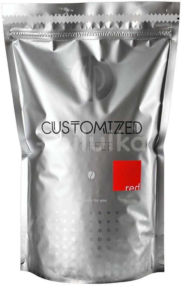 dp CUSTOMIZED COFFEE RED zrnková káva 1kg