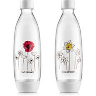 SodaStream Lahev FUSE 2 x 1l Květiny v zimě