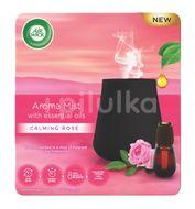 Air Wick aroma vaporizér+náplň 20ml,svůdná vůně růže