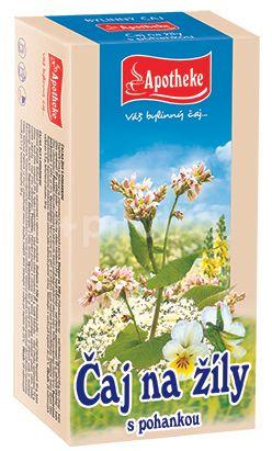 Apotheke Čaj na žíly s pohankou 20x1.5g n.s.