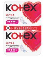 Kotex Ultra Super double 12ks