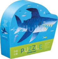 Crocodile Creek Mini puzzle, Žralok 12ks