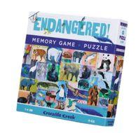 Crocodile Creek Puzzle a paměťová hra - Ohrožené druhy
