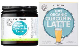 Viridian Curcumin Latte 30g Organic