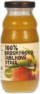 ZDRAVO Šťáva 100% broskvovo-jablková 200ml