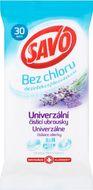Savo Univerzální dezinfekční čistící ubrousky, levandule, 30ks