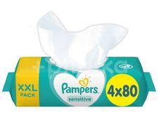 Pampers ubrousky Sensitive XXL 4x80ks