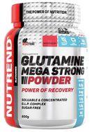 Nutrend Glutamine Mega Strong Powder punč-brusinka 500g