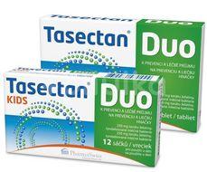 Tasectan Duo 12 tablet+KIDS 12 sáčků