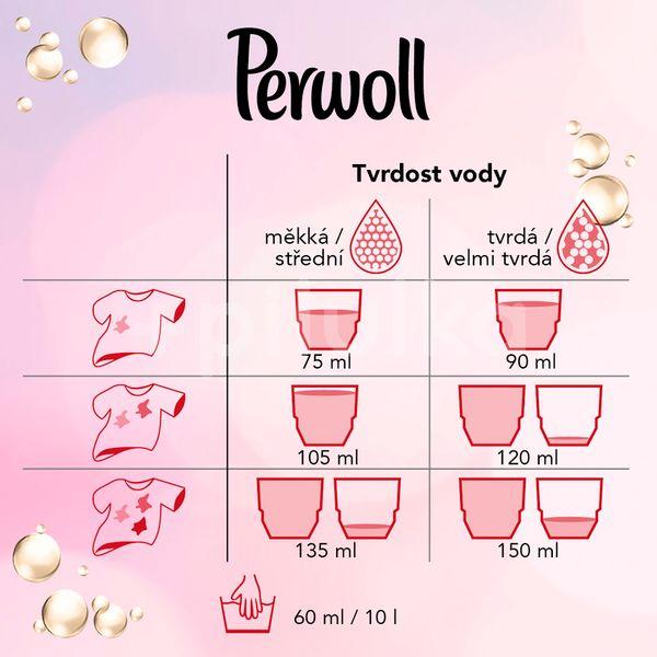 Perwoll Prací gel Care & Condition 15 praní 900ml