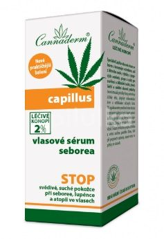 Cannaderm Capillus vlasové sérum seborea 40ml