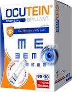 Ocutein Brillant Lutein 25mg 90+30 tobolek + dárek