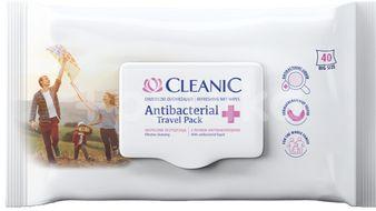 Harper Hygienics Cleanic Antibakteriální vlhčené ubrousky 40ks