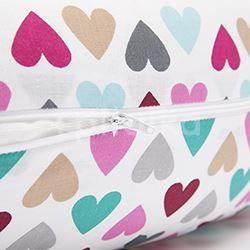 Kojící polštář 160x30cm colorfull heart