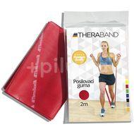 Thera-Band Posilovací guma 2m červená – středně silná