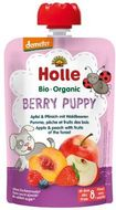 Holle Bio pyré - Berry Puppy- Jablko a broskev s lesními plody 100g