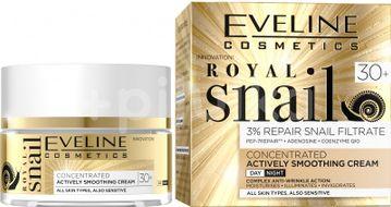 Eveline Royal Snail Vyhlazující denní a noční krém 30+ 50ml