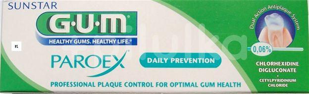 GUM zubní pasta Paroex (CHX 0.06%) 75ml