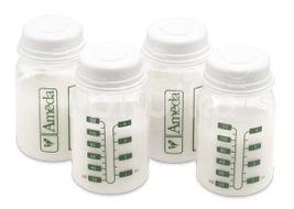 Sada 4ks lahvicek Ameda pro uložení mléka, 120 ml