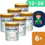 Kendamil batolecí mléko 3 DHA+ 6x800g