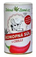 Zelená Země Konopná sůl s chilli 165g
