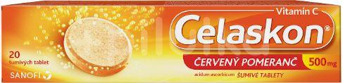 Celaskon 500mg Červený pomeranč 20 tablet