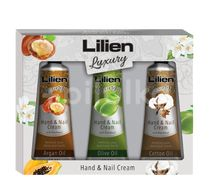 Lilien Hand and Nail Cream 3x40ml