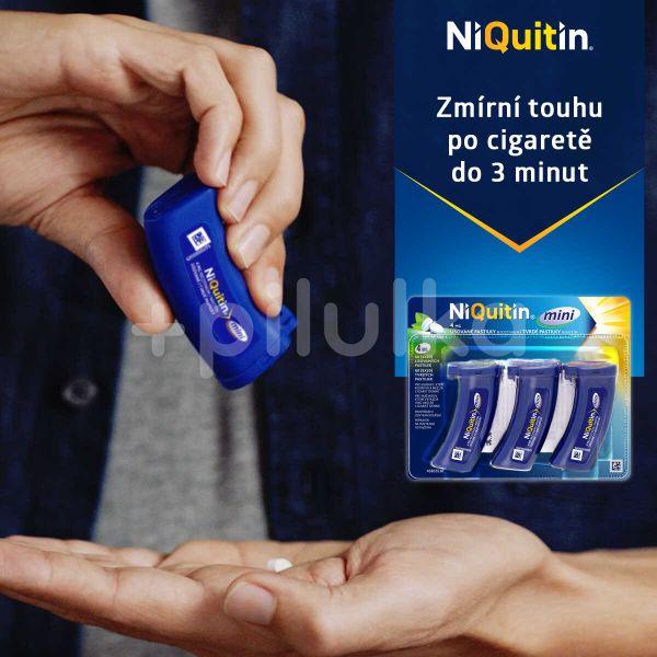 NiQuitin mini 4mg pastilky 3x20ks