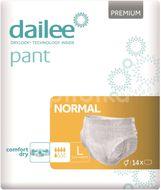 Dailee Natahovací kalhotky Pant Premium Normal L 14ks
