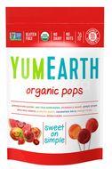 YumEarth Bio Ovocné lízátka organické 85g