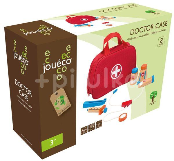 Jouéco Doktorský kufřík s dřevěným příslušenstvím 36m+