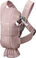 BabyBjörn Nosítko Mini Dusty Pink Cotton růžové
