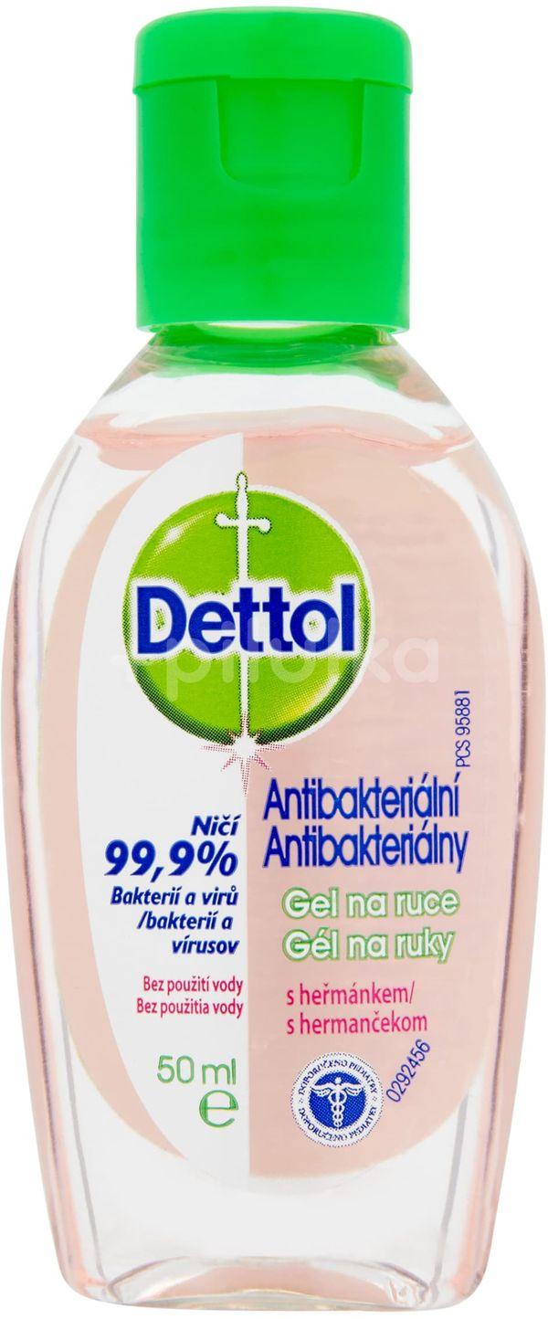 Dettol Antibakteriální gel na ruce Heřmánek 50ml