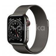 Apple Watch S6 GPS + Cellular, 40mm Graphite Stainless Steel Case, Graphite Milanese Loop 1ks
