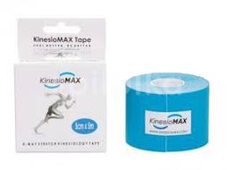 KineMAX SuperPro Cotton kinesio tejp modr.5cmx5m