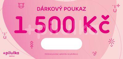 Elektronický dárkový poukaz na 1500 Kč