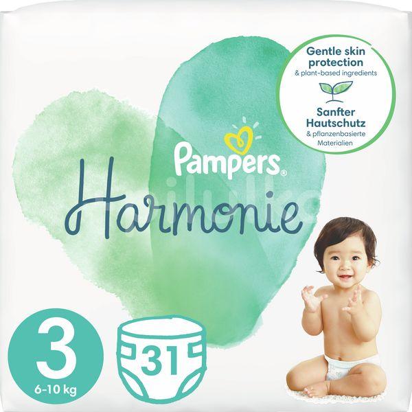 Pampers Harmonie Velikost 3, 31ks