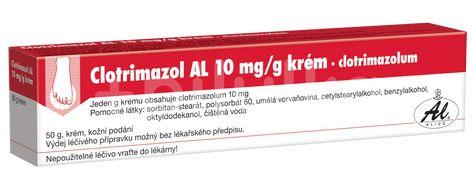Clotrimazol AL 1% krém 50g