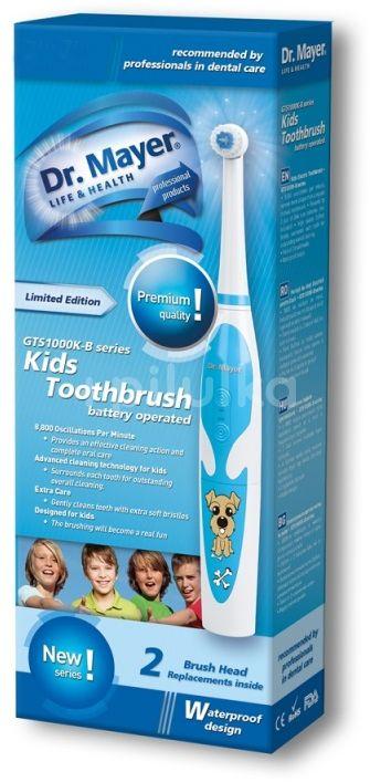 Dr.Mayer KIDS zubní kartáček GTS1000K-B Blue