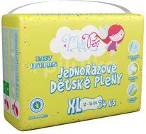MonPeri Klasik XL 12-16kg Eko Jednorázové dětské pleny 34ks