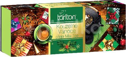 TARLTON Kouzelné Vánoce Assortment 5 Green Tea - Vánoční přebal 100x2g