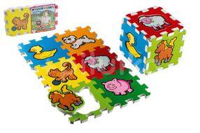 Teddies Pěnové puzzle Moje první zvířátka 6ks