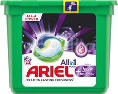 Ariel gelové kapsle Touch of Lenor unstoppables 23ks