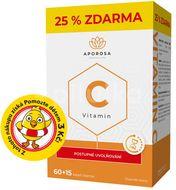 APOROSA prémiový Vitamin C 700mg s postupným uvolňováním 75 kapslí